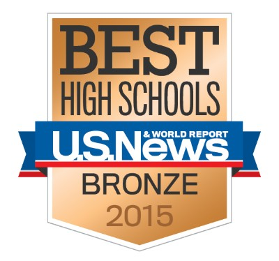 Best High Schools U.S. News & World Report Bronze 2015