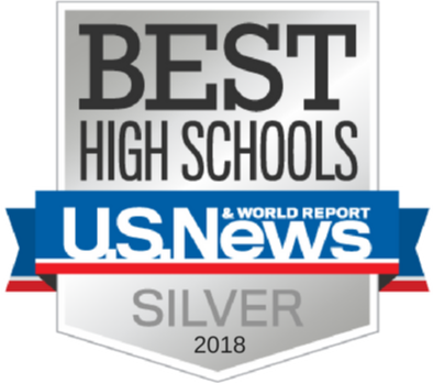 Silver 2018 Best High Schools U.S. News & World Report